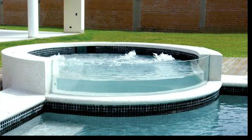 Cierre de piscina vidrieria ct - Piscina de cristal ...