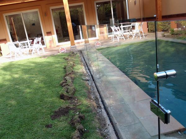 Vidrios para piscinas piscina de fibra de vidrio y - Cristales para piscinas ...