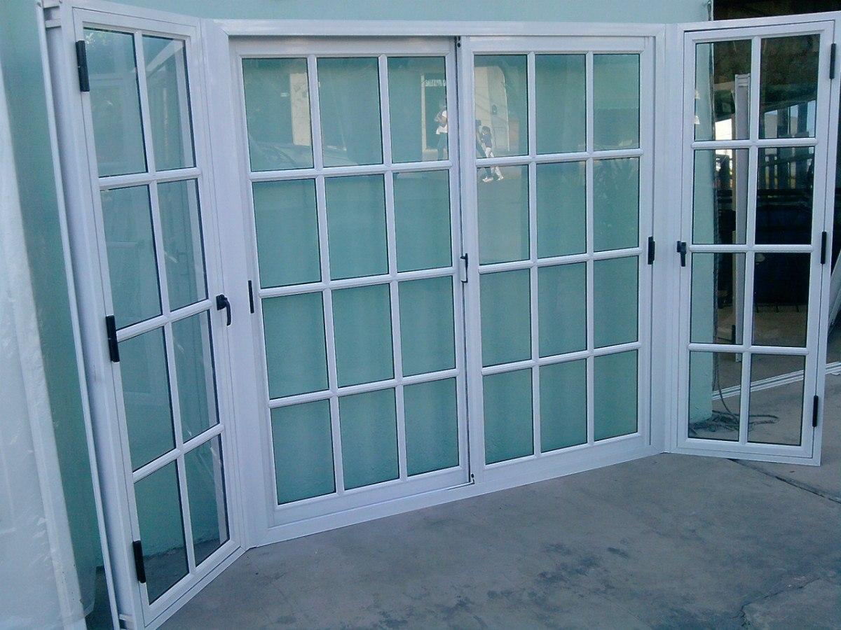 Ventanas y puertas de aluminio vidrieria ct for Puerta ventana de aluminio corrediza